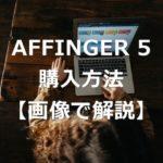 有料テーマ「アフィンガー5」の購入方法を画像付きで解説!